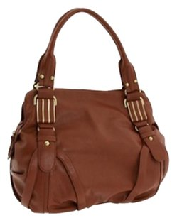 Jessica Simpson Haven Satchel in Pecan