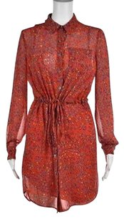 Jessica Simpson short dress Multi-Color Womens Red on Tradesy