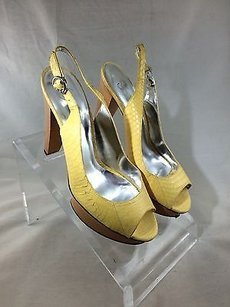 Jessica Simpson Yellow Pumps