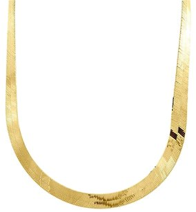 10k,Yellow,Gold,Solid,Necklace,Silky,Herringbone,7.75mm,Chain,16,24,Inches,