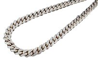 Other Genuine Diamond Miami Cuban Chain 5.75 Ct. 10k Rose Gold 7.62mm Inch Necklace