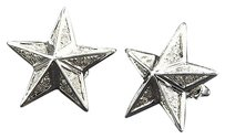 Star,Shaped,Diamond,Studs,10k,White,Gold,0.40,Ct.,Round,Cut,Pave,Earrings,