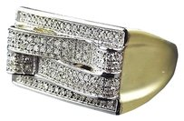 Jewelry Unlimited Exclusive,10k,Yellow,Gold,Genuine,Diamond,3d,Layer,Stack,Style,Ring,.50ct