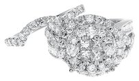 Jewelry Unlimited 14k,White,Gold,Cluster,Diamond,Bridal,Wedding,Engagement,Soleil,Ring,Set,3,Ct