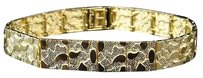 Jewelry Unlimited Mens,And,Ladies,10k,Yellow,Gold,Nugget,Style,Link,Designer,8.5,Ins,Bracelet,11mm