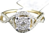 Jewelry Unlimited 14k,Yellow,Gold,Round,Engagement,Bridal,Solitiare,Diamond,Solitaire,Ring,.45,Ct