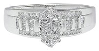 Jewelry Unlimited Ladies,10k,White,Gold,Marquise,Style,Diamond,Bridal,Wedding,Engagement,Ring
