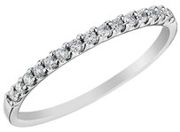 Jewelry Unlimited Ladies,Round,Cut,Diamond,Pave,Wedding,Engagement,Band,Ring,In,14k,Gold