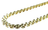 Jewelry Unlimited Premium,10k,Yellow,Gold,Jubilee,Style,Italian,Link,Chain,Necklace,6.0mm,22
