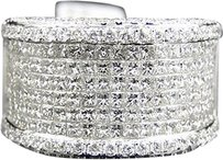 Jewelry Unlimited Mens,White,Gold,16,Mm,Princess,Cut,White,Vs,Diamond,Ring,7.5,Ct