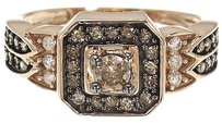 Jewelry Unlimited Ladies,Brown,Diamond,Engagement,Band,Ring,In,10k,Rose,Gold,With,.68,Ct,10,Mm