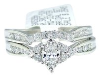 Jewelry Unlimited 14k,White,Gold,Marquise,Cut,Engagement,Bridal,Diamond,Ring,0.50,Ct