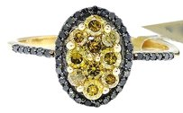 Jewelry Unlimited Ladies,10k,Yellow,Gold,Round,Cut,Canary,Diamond,Oval,Engagement,Fashion,Ring