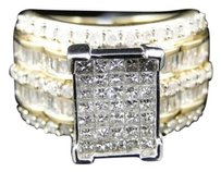 Jewelry Unlimited Ladies,10k,Yellow,Gold,Princess,Xl,Diamond,Engagement,Wedding,Bridal,Ring,1.5,Ct