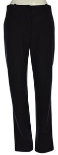 Jil Sander Womens Textured Casual Wool Trousers Pants