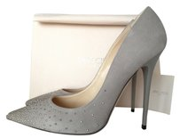 Jimmy Choo Anouk Grey Suede GRAY Pumps