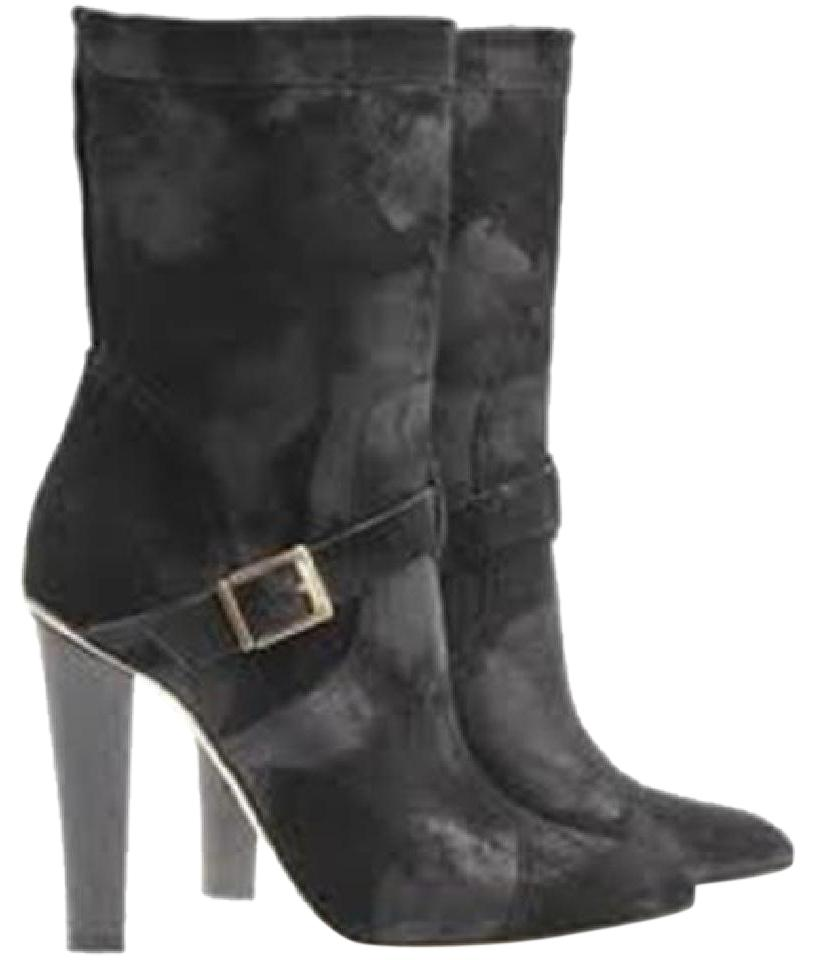Jimmy Choo Metallic Mid-Calf Boots free shipping find great sale online sale wide range of low shipping fee cheap online rNonMe