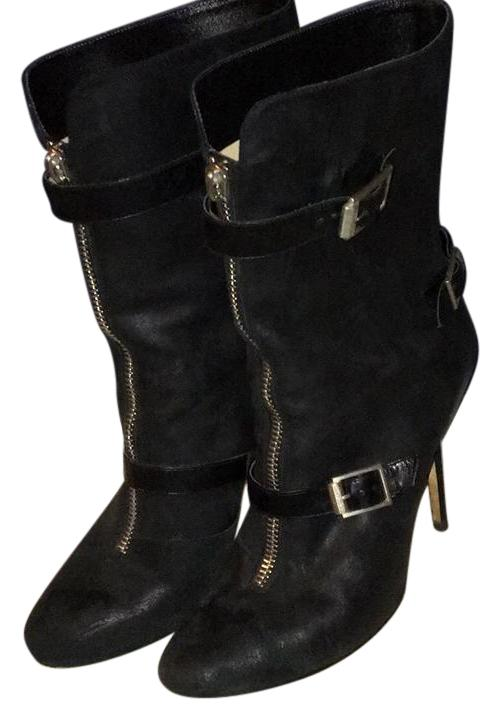 Jimmy Choo Black Na Boots/Booties Size US 10