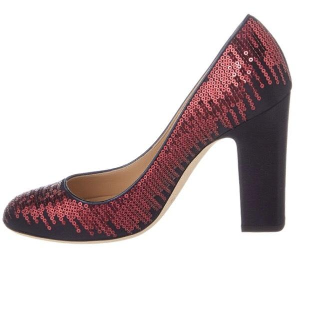 0a3a713a17f7 discount code for jimmy choo black satin w red sequin embellishment pumps  4e980 93d72