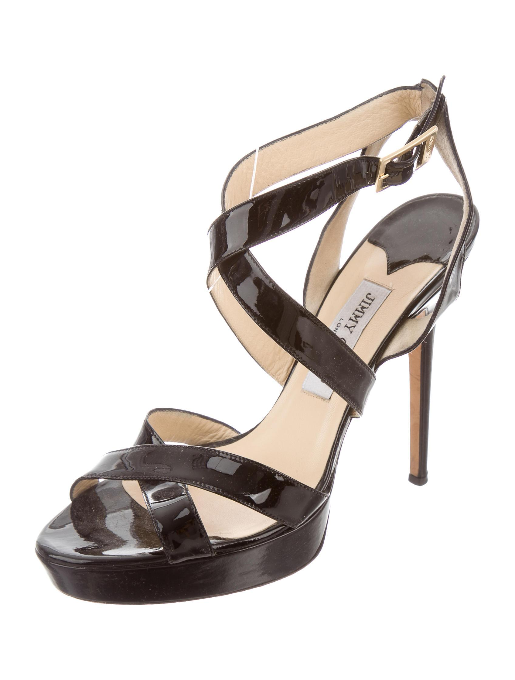 really for sale manchester great sale for sale Jimmy Choo Multistraps Platform Sandals extremely cheap price WmE5kvw