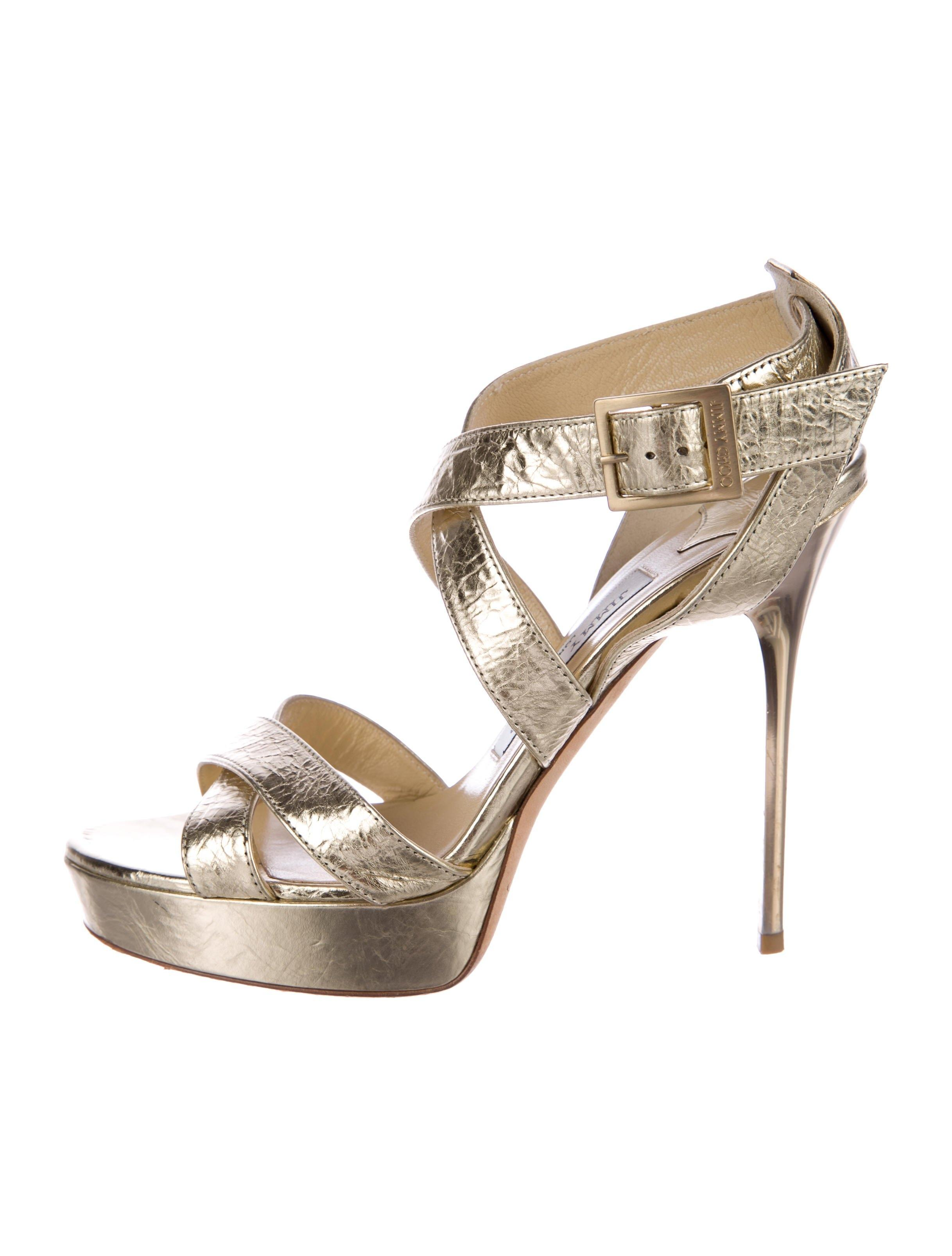Jimmy Choo Patent Leather Multistrap Sandals free shipping 2014 unisex purchase cheap online YThPMzD