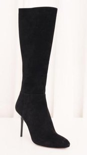 Jimmy Choo Womens Suede Black Boots