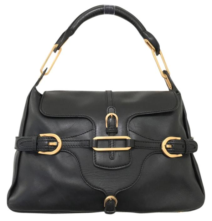 Jimmy Choo Leather Tote Hobo Satchel Shoulder Bag