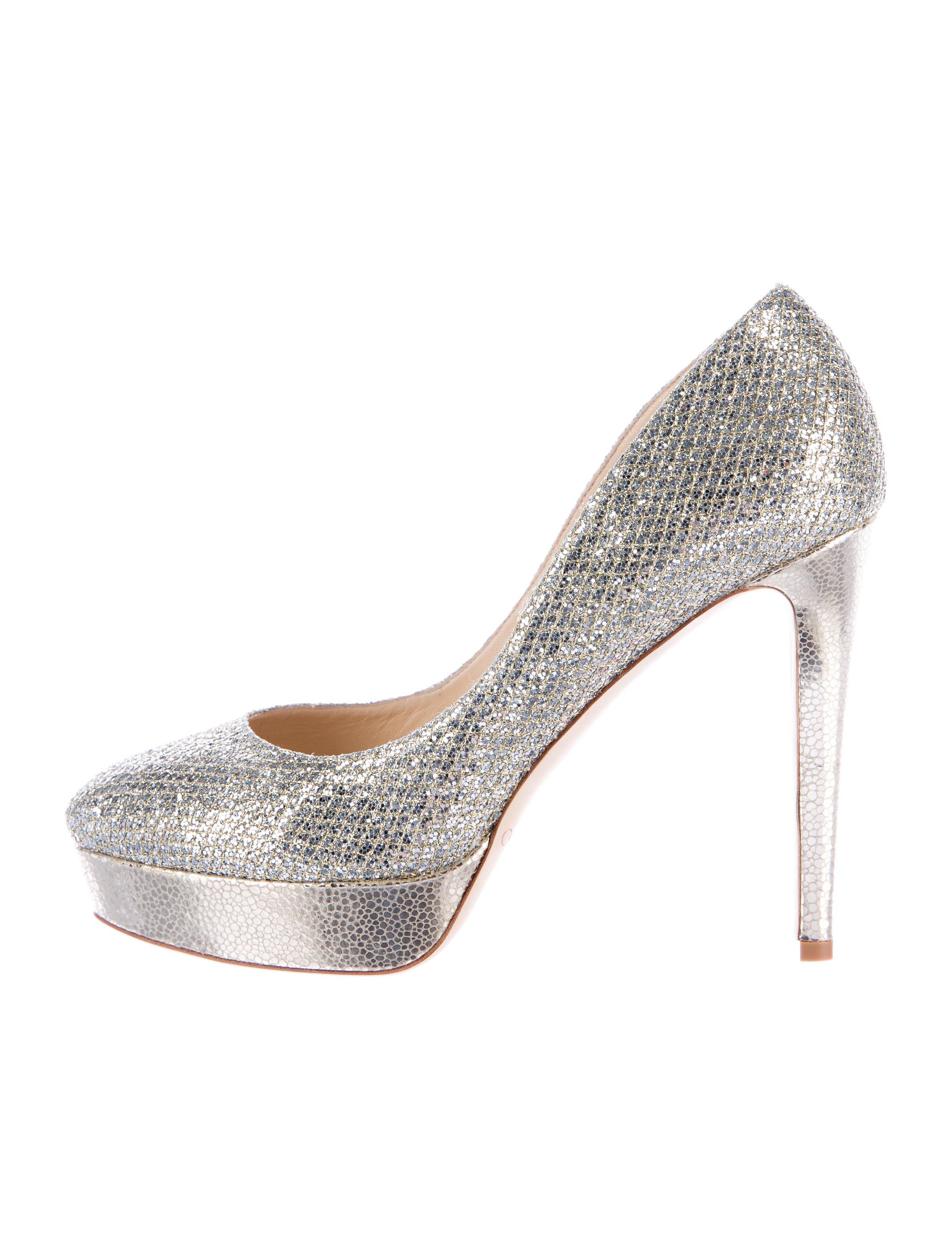 Jimmy Choo Silver Alex Pumps Size US 10 Regular (M, B)