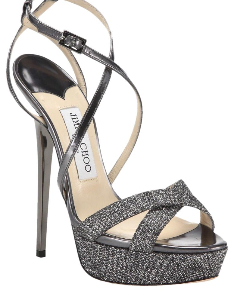 Jimmy Choo Silver Standout Formal Shoes Size US 6 Regular (M, B)