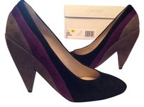 Joan & David Black/Grey/Purple Pumps