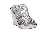 Joan & David Womens Leather multi-colored Platforms