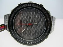 Joe Rodeo 1 Row Jojojojinojoe Rodeo Black Diamond Watch 1.75 Ct