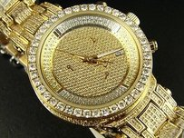 Joe Rodeo Joe Rodeojojoaqua Master Jjml12 Diamond Watch 3.70 Ct