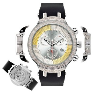 Joe Rodeo Mens Diamond Watch Joe Rodeo Master Jjm1 2.2 Ct Illusion Dial