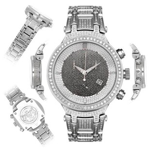 Joe Rodeo Mens Diamond Watch Joe Rodeo Master Jjm20 7.35 Ct Illusion Dial