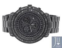 Joe Rodeo Mens Joe Rodeojojo Junior 117 Black Pvd Jju 300 Black Diamond Watch Ct