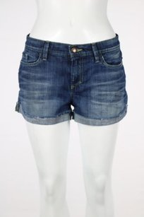 JOE'S Jeans Joes Womens Wash Denim Cut Off Shorts Blue