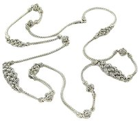 John Hardy John Hardy Necklace Classic Chain Short Knot Station Sterling Silver