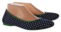 Johnston & Murphy Womens Navy Multi-Color Flats