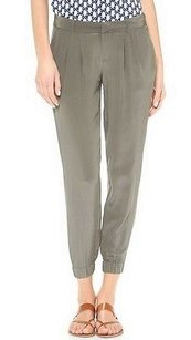 Joie Lidora Olive Fatigue Capri/Cropped Pants Green