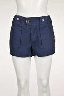 Joie Womens Casual Shorts Navy