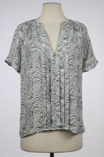 Joie Womens Printed Top White