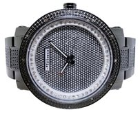 JoJino Icy Mens Jojinojojojoe Rodeo Genuine Grey Illusion Dial Diamond Watch Mj-8016