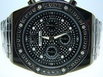 JoJino Mens Jojojojinojoe Rodeo Black Diamond Watch 1.75 Ct