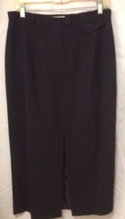 Jones New York Vintage Wool Skirt Black