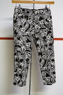 Jones New York Petite Brownwhite Capri/Cropped Pants Multi-Color
