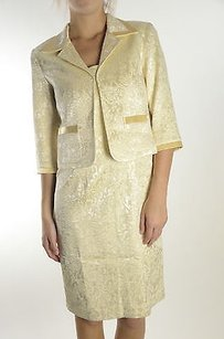 Joseph Ribkoff short dress Ivory Gold on Tradesy