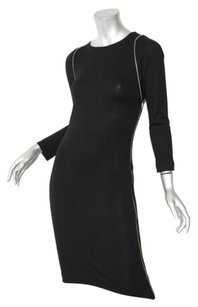 Joseph Womens Knit Gold Dress