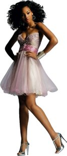 Jovani Strapless Beaded Embellished Sweetheart Homecoming Dress