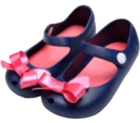 Happy Toddler Navy blue & pink Sandals